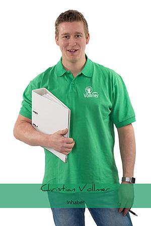 Christian Vollmer Inhaber / Geschäftsführer